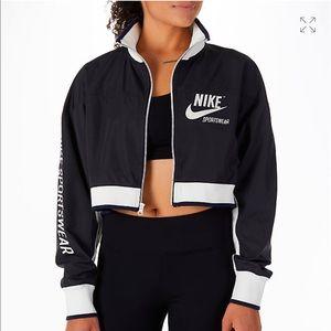 Women's Nike sportswear cropper track jacket